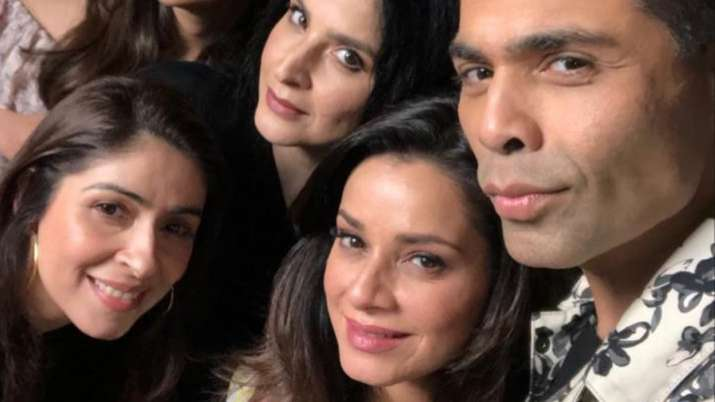 Karan Johar gives it back to troll in style who called him 'favourite wife'