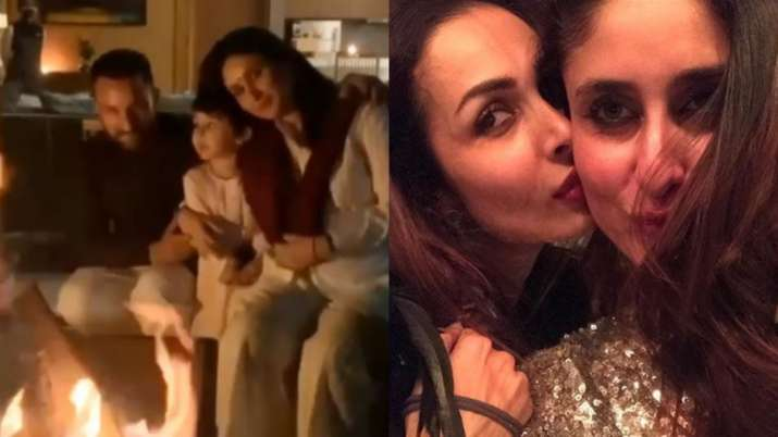 Mom-to-be Kareena Kapoor spotted on Dharamshala streets with Saif , Taimur and Malaika. Watch video