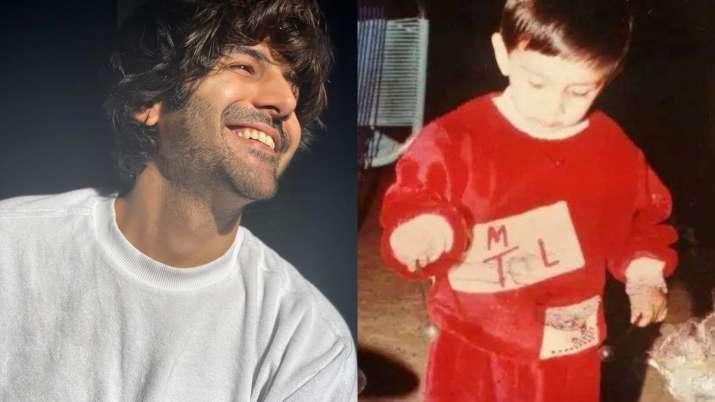 Happy Birthday Kartik Aaryan: Seen these dotting childhood pictures of Bhool Bhulaiyaa 2 actor?