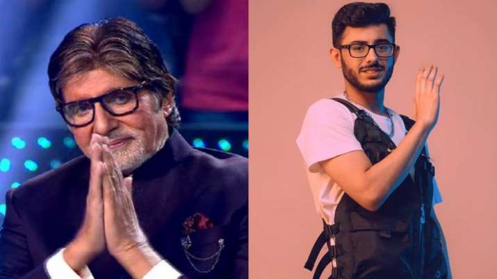 KBC 12: Proud moment for CarryMinati after Amitabh Bachchan praises him on show; fans react