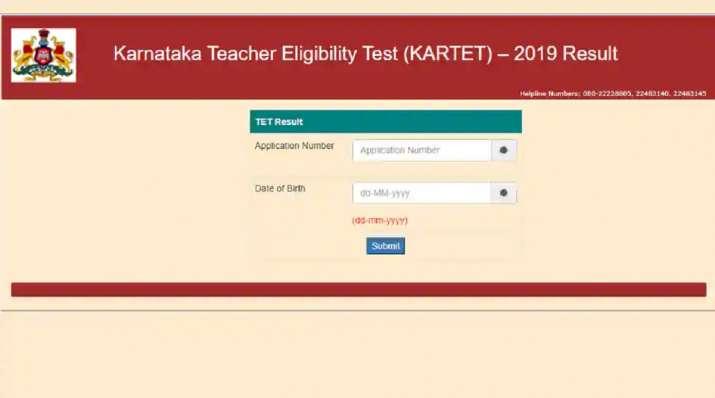 KARTET Result 2020: Karnataka TET results declared at schooleducation.kar.nic.in. Direct link