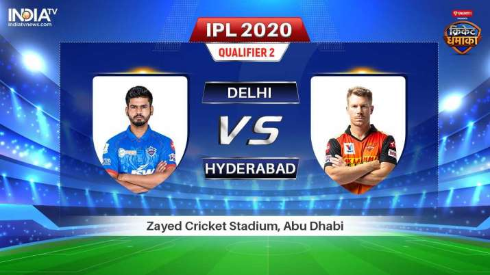 IPL Live Score Delhi Capitals vs Sunrisers Hyderabad, IPL 2020, Indian Premier League, Dream11 Team,