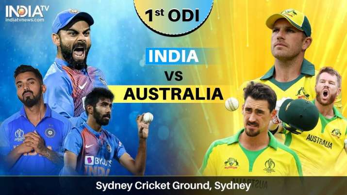 Live Streaming Cricket India vs Australia 1st ODI: Watch IND vs AUS match online on SonyLIV and Sony