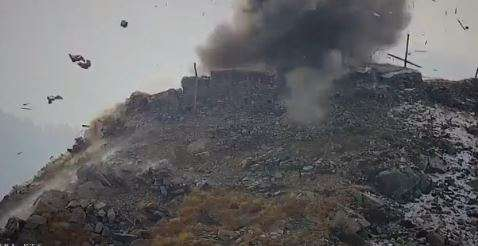 Pakistan Army bunkers, fuel dumps, and launch pads were destroyed in retaliatory firing by Indian Ar