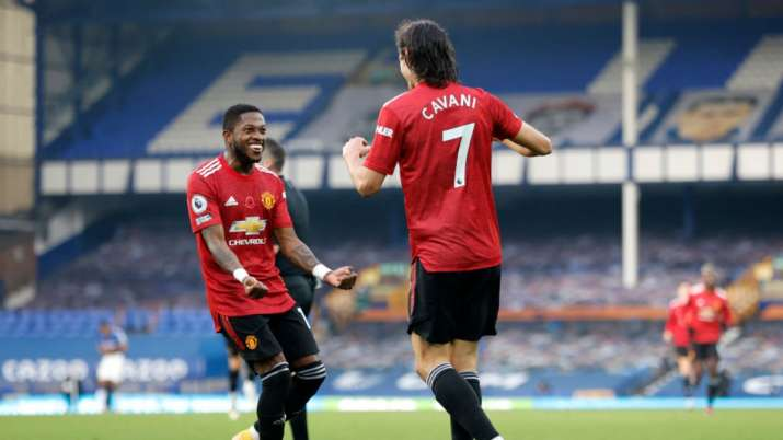 Premier League Solskjaer Gets Response As Manchester United Beat Everton 3 1 Football News India Tv