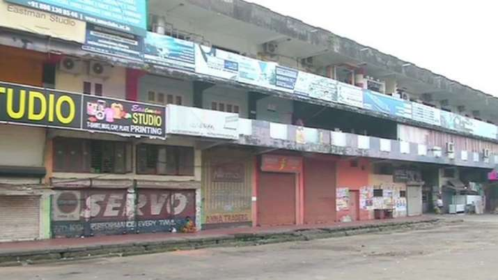 India Tv - Bharat Bandh: Shops closed in Kochi