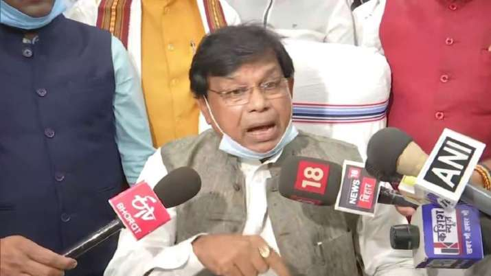 Bihar education minister, Mewa Lal choudhary
