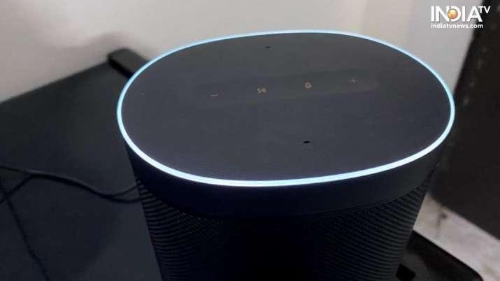 India Tv - xiaomi, xiaomi smart speaker, xiaomi mi smart speaker, smart speaker, mi smart speaker, mi smart spe