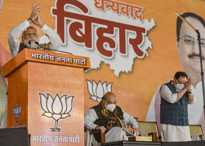 India Tv - Bihar election result