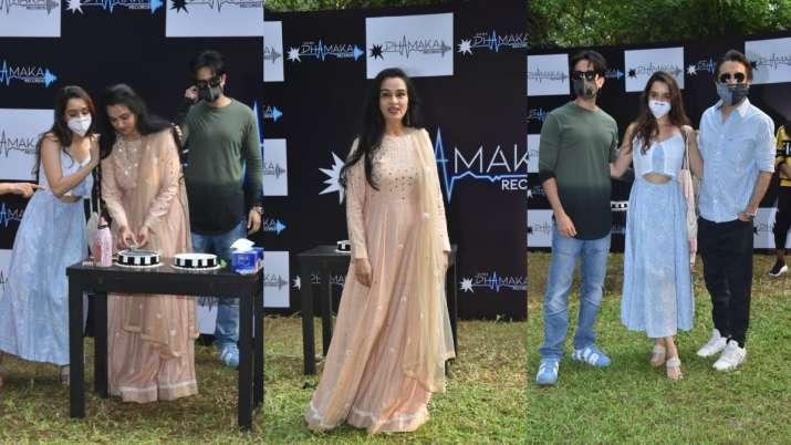Padmini Kolhapure's birthday bash: Shraddha Kapoor and family attend the party. See pics