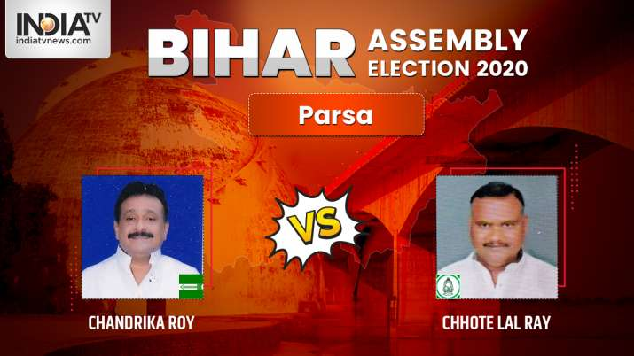 Parsa election result: JDU's Chandrika Roy clashes with old