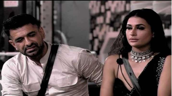 Bigg Boss 14: Pavitra Punia bids goodbye to Salman Khan's show a week before its finale
