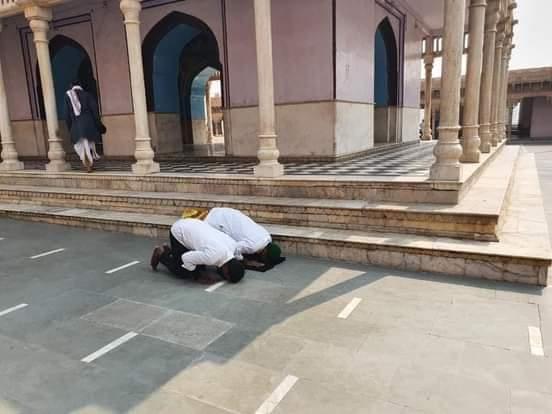 mathura temple namaz prayers Nand Baba Mandir two booked | India News –  India TV