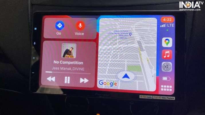 India Tv - apple carplay, pioneer