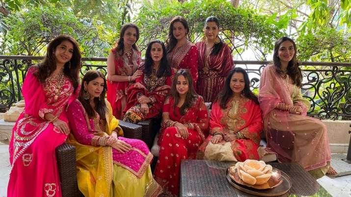Inside Karwa Chauth celebrations of Bollywood celebrities