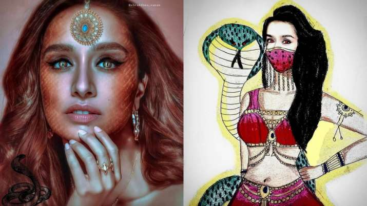 Shraddha Kapoor praises fan-made posters of her Naagin look