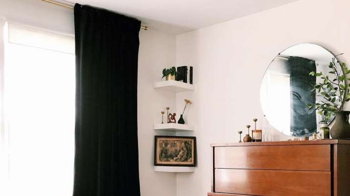 Put black colored curtains in the north direction of the house. Here's why