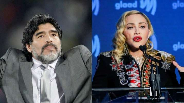 Why Madonna trended after Maradona's demise