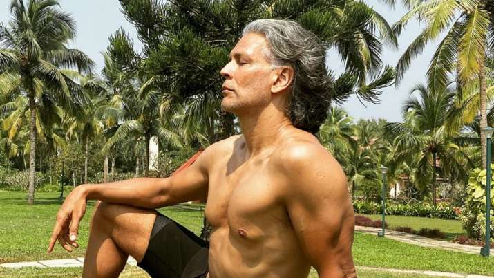 Milind Soman bares it all on 55th birthday