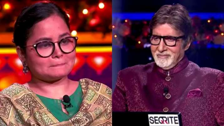 Nazia Nasim becomes first crorepati of KBC 12 hosted by Amitabh Bachchan