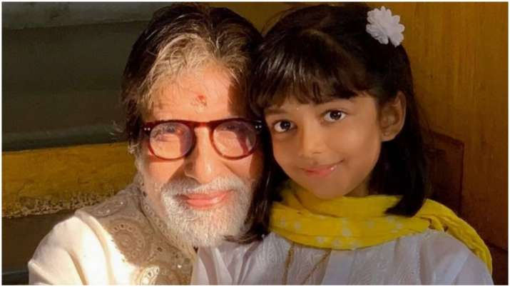Amitabh Bachchan shares adorable birthday post for granddaughter Aaradhya