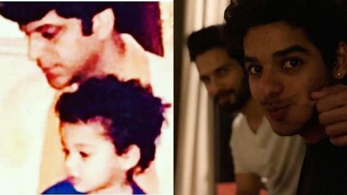 Ishaan Khatter turns 25: Shahid Kapoor, Ananya Panday, Rajesh Khattar share adorable posts   Pics