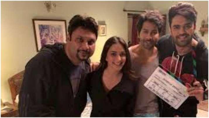 Maniesh Paul joins Varun, Kiara for shoot of 'Jug Jugg Jeeyo'