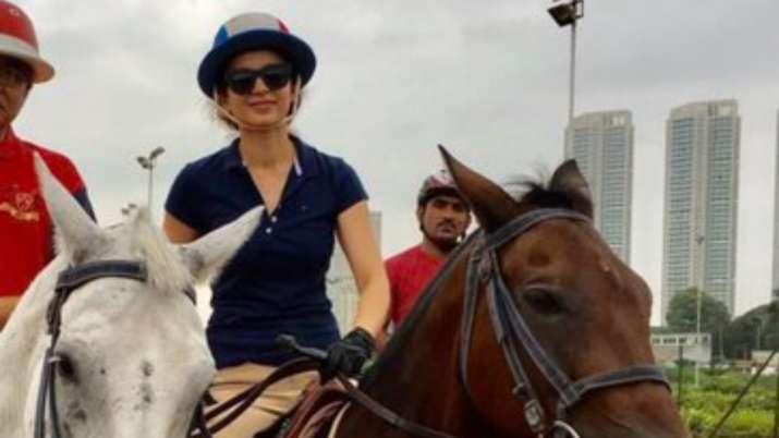Kangana Ranaut misses horse-back riding in Mumbai, shares throwback photos