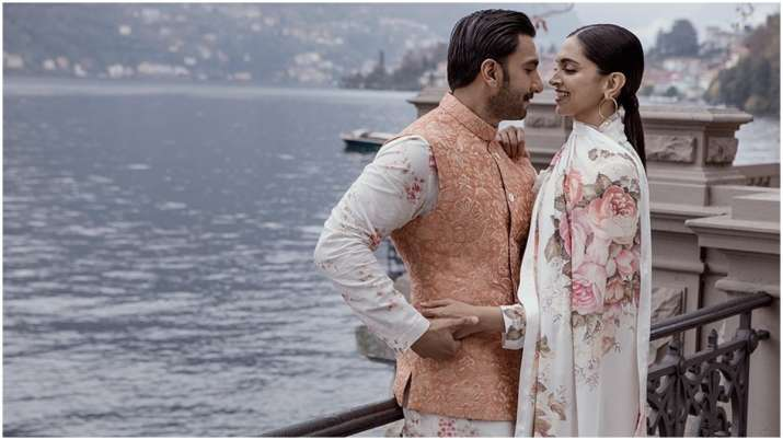 Deepika Padukone, Ranveer Singh wish each other on anniversary