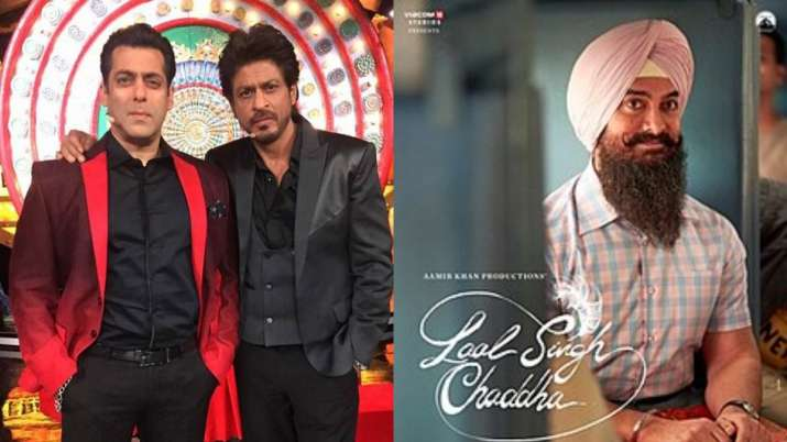 Shah Rukh Khan, Salman Khan to revive Raj and Prem characters for Aamir Khan's Laal Singh Chaddha?