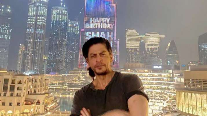 On Shah Rukh Khan's 55th birthday, Burj Khalifa lights up to pay tribute