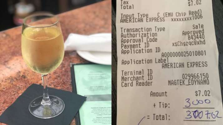 Man orders single beer for $7, leaves tip of $3,000 as restaurant plans to shut down