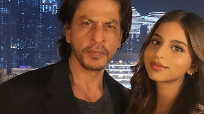 Shah Rukh Khan's daughter Suhana shares photo from actor's 55th birthday celebration
