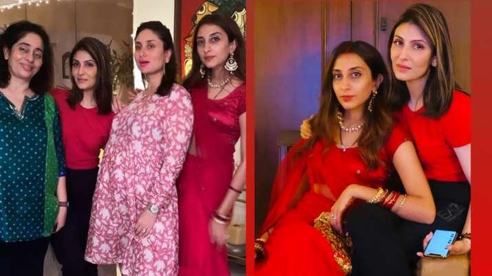 India Tv - Kapoor family dinner on Karwa Chauth
