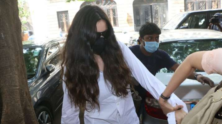 Arjun Rampal's girlfriend Gabriella Demetriades appears before NCB for questioning