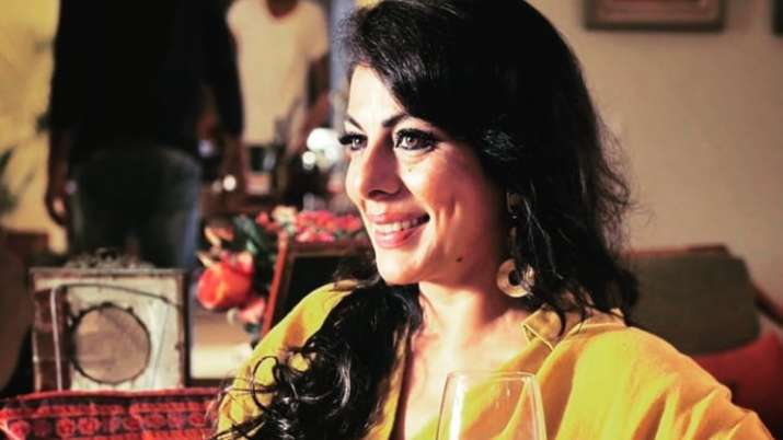 Pooja Bedi invited to next Kumbh by Mahant Giri