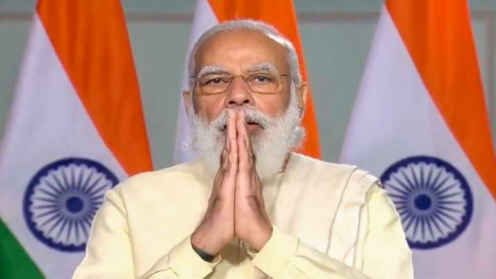 PM Modi greets people on Dhanteras