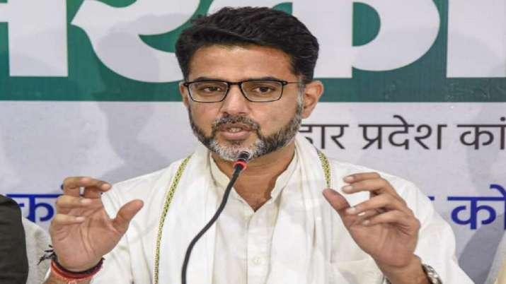 Rajasthan Congress leader Sachin Pilot
