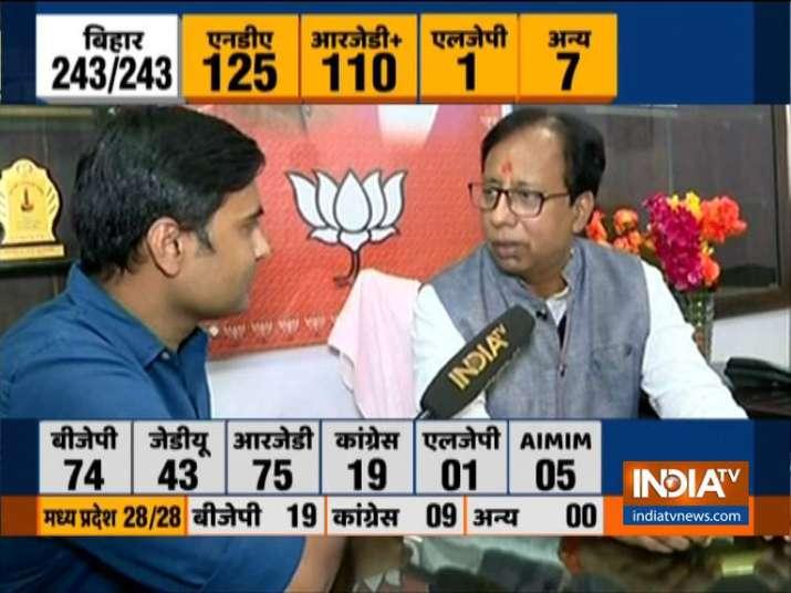 Nitish Kumar will be CM, Bihar BJP chief says