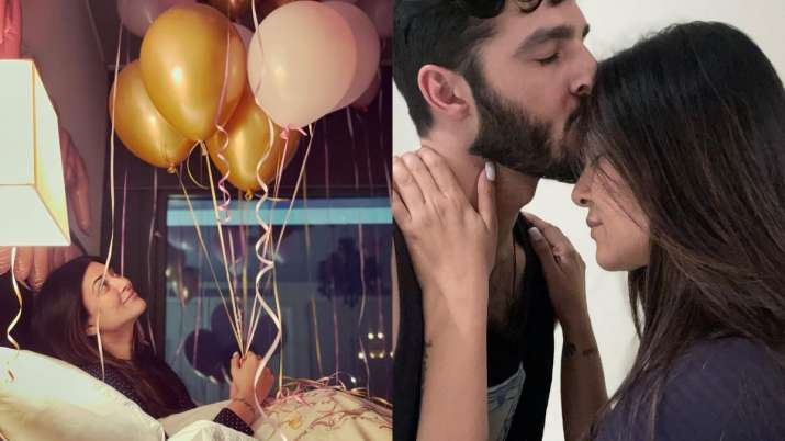 Inside Sushmita Sen's 45th birthday celebrations: Midnight surprises to wishes from beau Rohman and