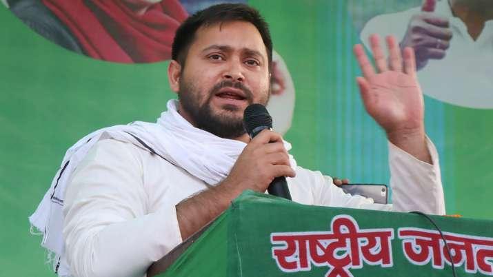 RJD leader Tejashwi Yadav deplores onion attack on Nitish