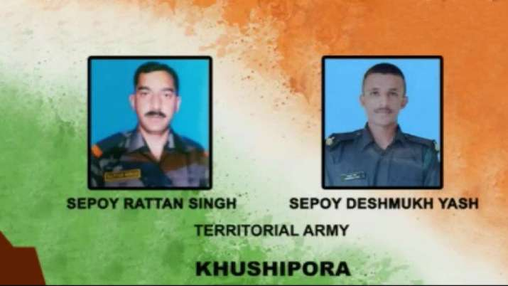 Army pays tributes to soldiers killed in Srinagar terrorist attack