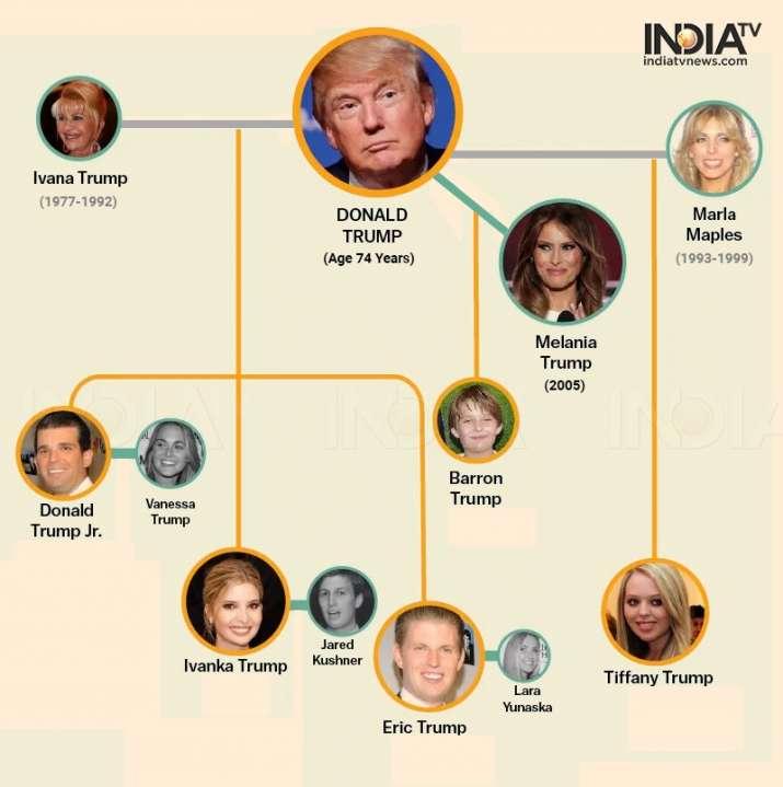 India Tv - Donald Trump family tree