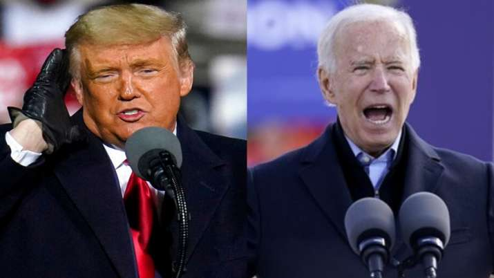 Donald Trump, Joe Biden, US Election 2020