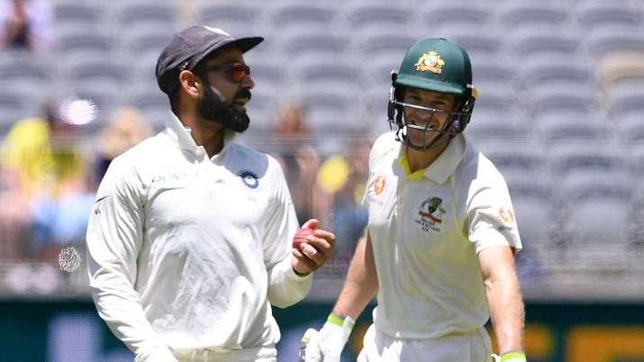 Aus Vs Ind Virat Kohli Finds Sledging Pointless But Tim Paine Won T Take Backward Step If Need Be Cricket News India Tv