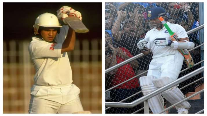 The right-handed batsman managed just 15 runs in his debut