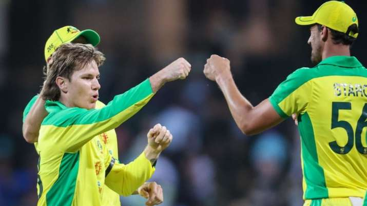 Adam Zampa registered his second-best figures on ODIs.