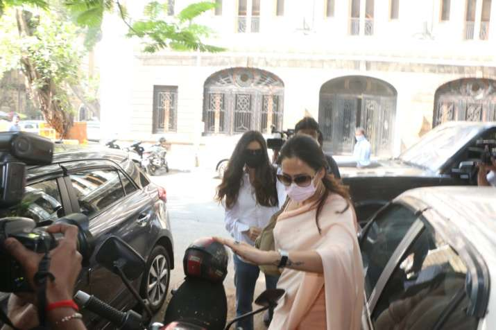 India Tv - Arjun Rampal's girlfriend Gabriella Demetriades appears before NCB for questioning