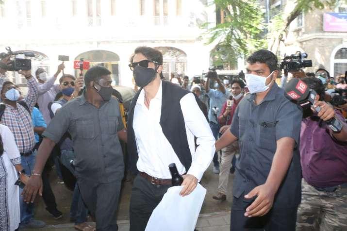 India Tv - Arjun Rampal arrives at NCB office for interrogation