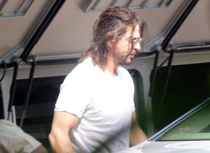 India Tv - Shah Rukh Khan spotted outside Yash Raj Studio